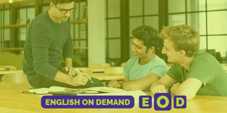 Open House - Una clase de Inglés gratis entradas