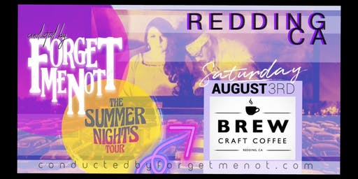 LIVE! Saturday 8/3/19 | CBFMN @ Brew Craft Coffee| #TheSummerNightsTour