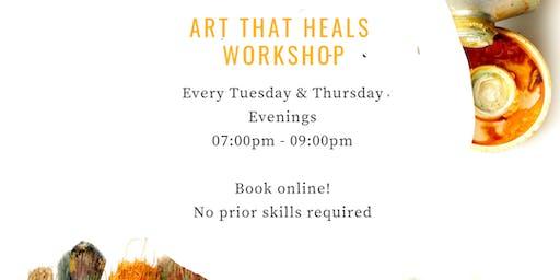 Art That Heals Workshop with Artist Maryanne Katsidis
