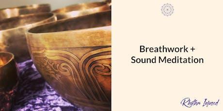 Breathwork + Sound Meditation - Parkville tickets