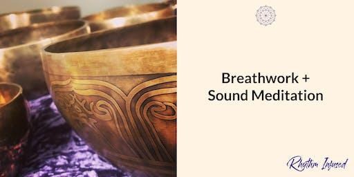 Breathwork + Sound Meditation - Parkville