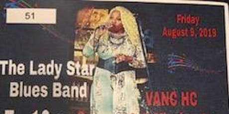 The Lady Star Blues Band Performing in Oceanside CA. Aug 9th tickets
