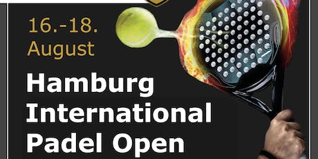 1. Hamburg International Padel Open Tickets