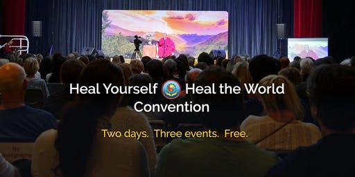 Saturday Evening: Heal Yourself, Heal the World Convention with Sri Avinash - Melbourne: Two Days. Three Events. FREE