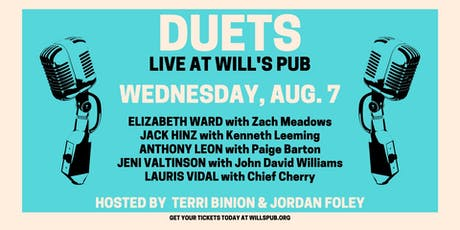 Duets - Hosted by Terri Binion & Jordan Foley at Will's Pub tickets