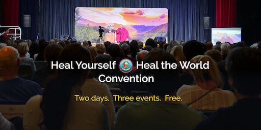 Saturday Evening: Heal Yourself, Heal the World Convention with Sri Avinash - Adelaide: Two Days. Three Events. FREE