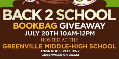 Back To School Backpack/Supply Giveaway  tickets