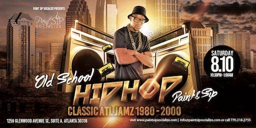 Old School Hip Hop Paint & Sip