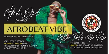 AfroBeat Vibe tickets