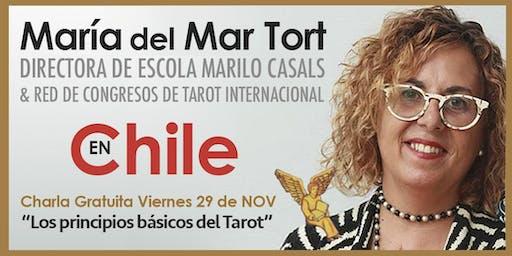 """María del Mar Tort en Chile : Charla Gratuita """"Los principios básicos del Tarot""""."""