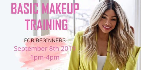 BASIC MAKEUP TRAINING BY SASA tickets