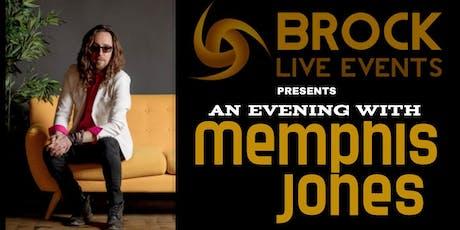 An Evening With Memphis Jones tickets