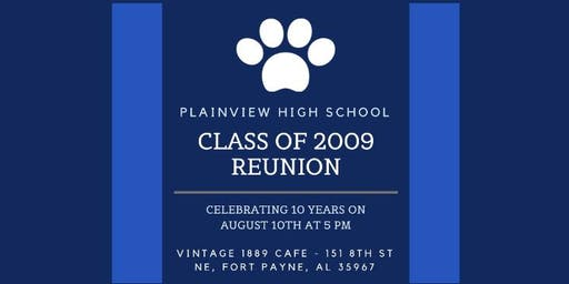 PHS Class of 2009 10-Year Reunion