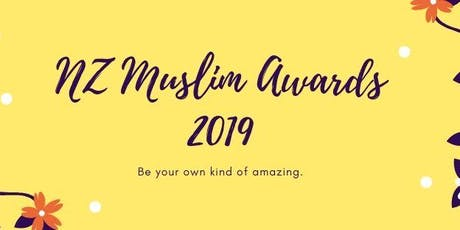 NZ Muslim Awards 2019 tickets