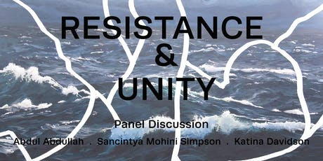 Resistance & Unity: A Panel Discussion tickets