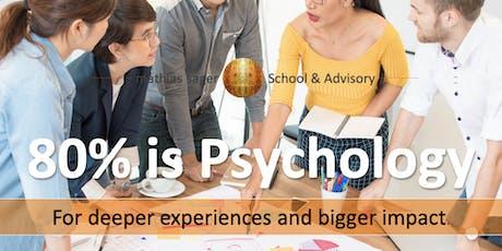 80% is Psychology: Deeper Experience - Bigger Impact (Live Webinar) tickets