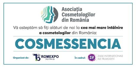 Cosmessencia cea mai mare intalnire a cosmetologilor din Romania tickets