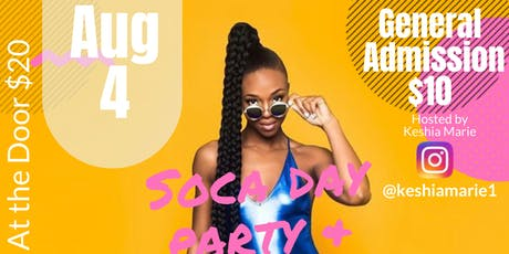 Soca Day Party & Island Vibes Brunch tickets