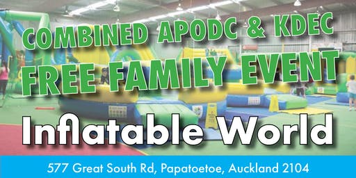 APODC & KDEC Inflatable World Event - FREE to families WITH A DEAF CHILD