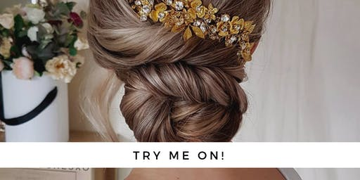 The Loop Market Pop Up Shop - Try on your bridal headpiece - Limited spots!