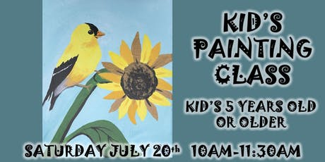 Kid's Painting Class tickets