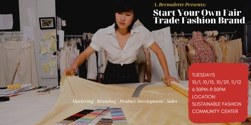 Start Your Own Fair Trade Fashion Brand: Fall Fashion Edition