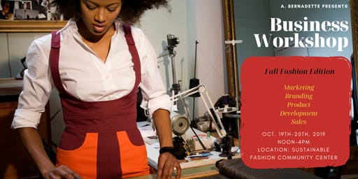 Business Workshop: Sustainable Fashion Edition