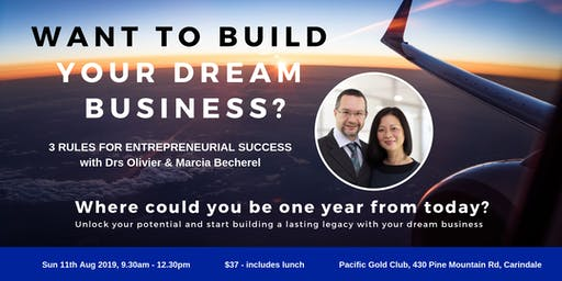 Want to Build Your Dream Business?