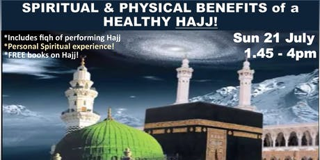 Spiritual & Physical Health Benefits of Hajj tickets