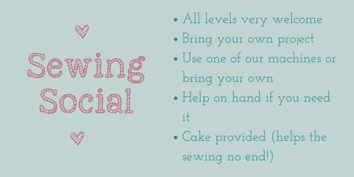 August Sewing Social
