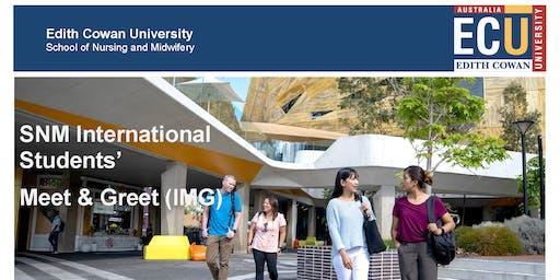 SNM International Students Meet & Greet (IMG)