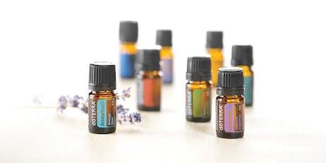 Essential oils workshop tickets