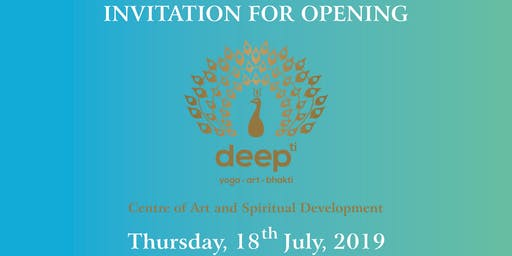 CENTRE OF ART AND SPIRITUAL DEVELOPMENT OPENING