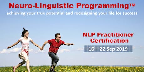 NEURO-LINGUISTIC PROGRAMMING (NLP) PRACTITIONER (Early Bird offer) tickets