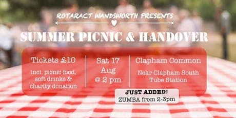 Rotaract Wandsworth Summer Picnic - with Zumba! tickets