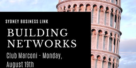 SBL: Building Networks Event tickets