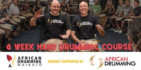 Tauranga 6 week African Hand Drumming Course tickets