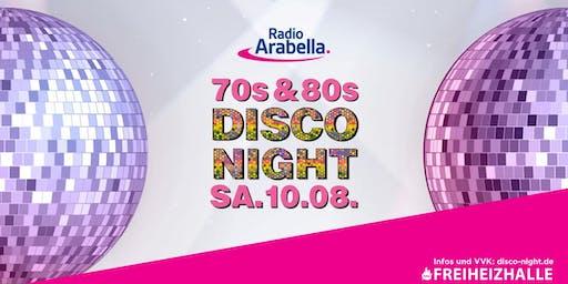 Radio Arabella Disco Night im August!