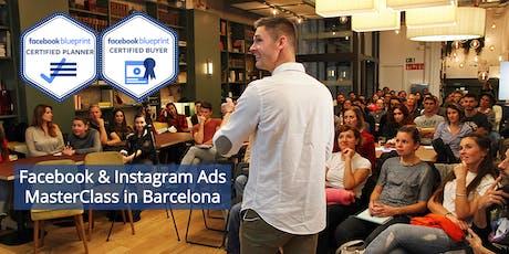Facebook & Instagram Ads MasterClass #18 | 3rd Sept. 2019 tickets