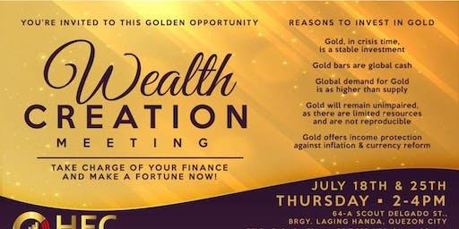 Compound Interest:  Gold & Finance Seminar
