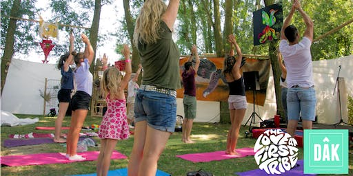 Yoga at DÂK X The Love at First Tribe