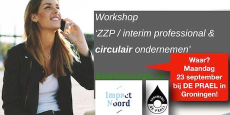 ZZP / interim professional & circulair ondernemen tickets