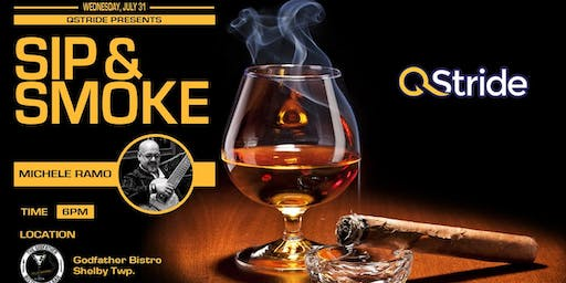 "QStride Presents ""Sip & Smoke"" VIP Networking Event"