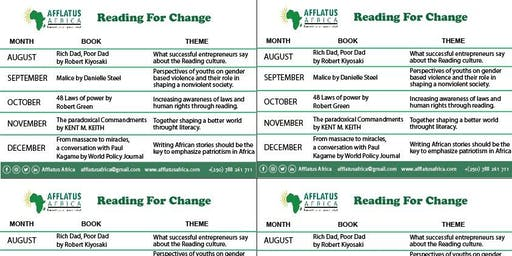 "READING FOR CHANGE ""The Most Transforming & The Biggest Book Talk in Rwanda"""
