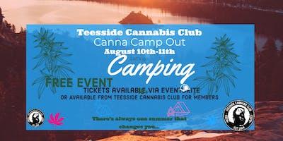 Teesside Cannabis Club  Canna Camp Out