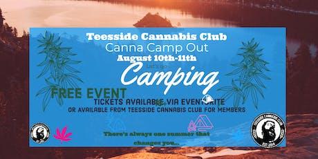 Teesside Cannabis Club  Canna Camp Out tickets