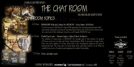 The Chat Room 06: An ARCHICAD User Event tickets
