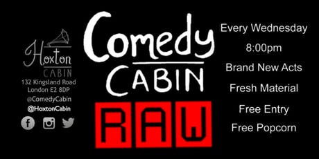 Comedy Cabin: RAW tickets