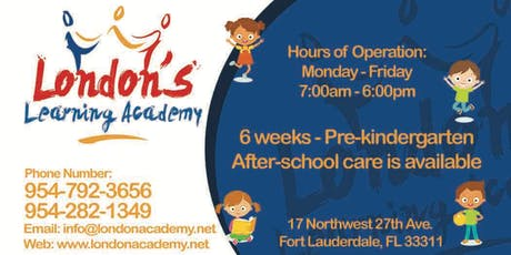 London's Learning Academy Open House & Ribbon Cutting Celebration tickets
