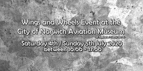 Wings & Wheels at the City of Norwich Aviation Museum tickets